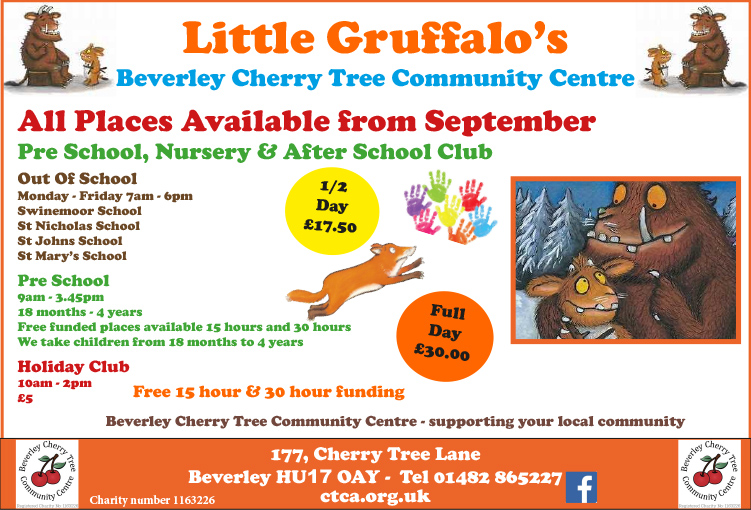 Little Gruffalo's - 18x8