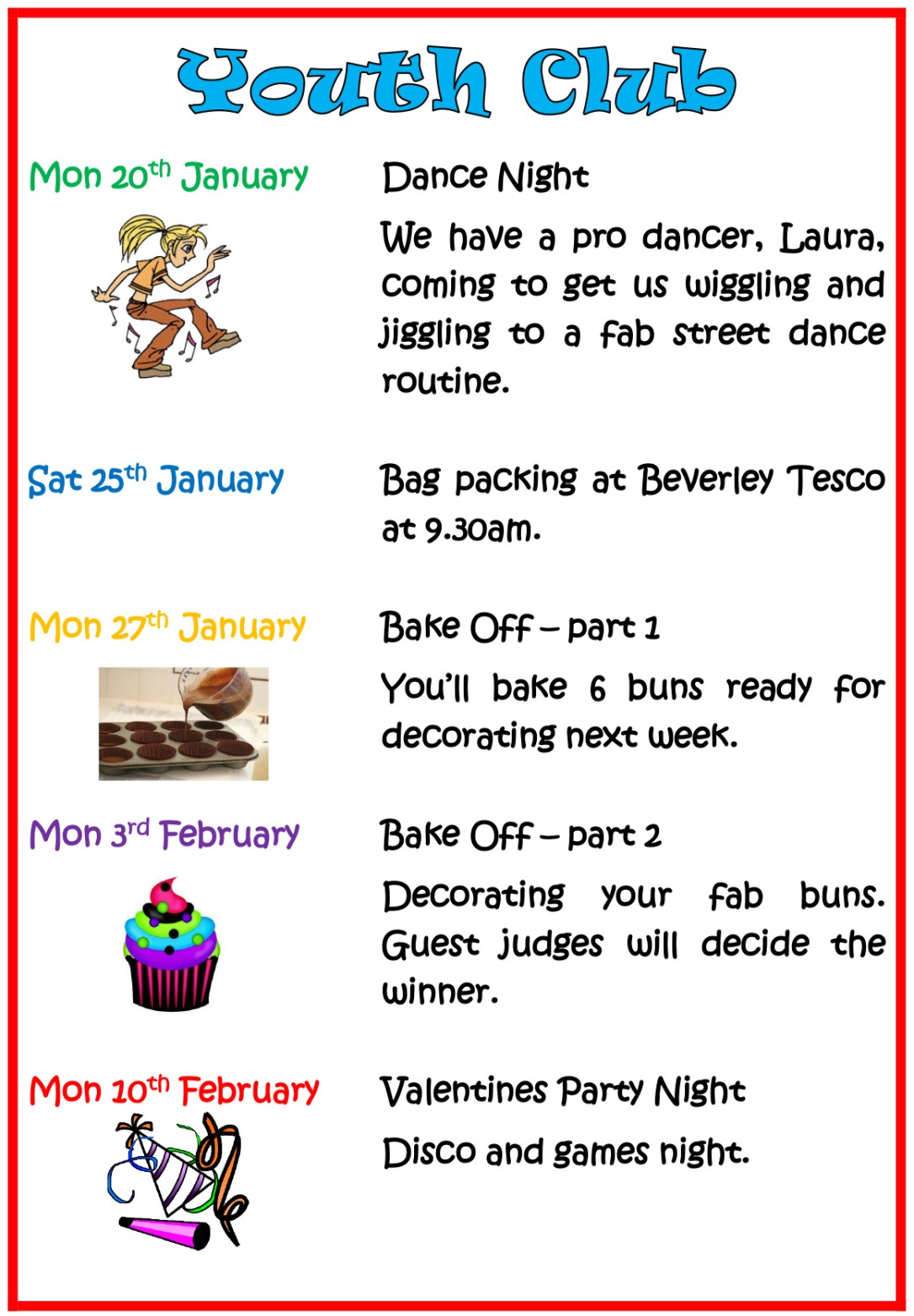 Youth Club dates_JanFeb20